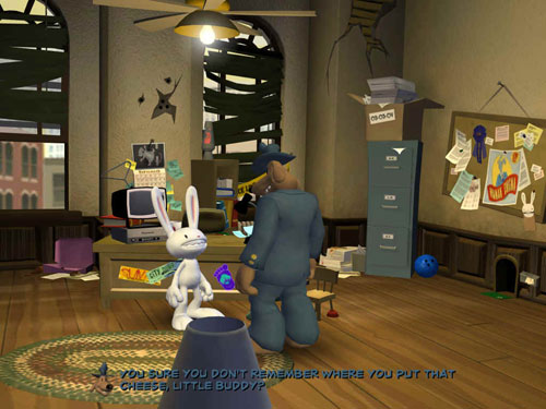 Sam and Max: Culture Shock