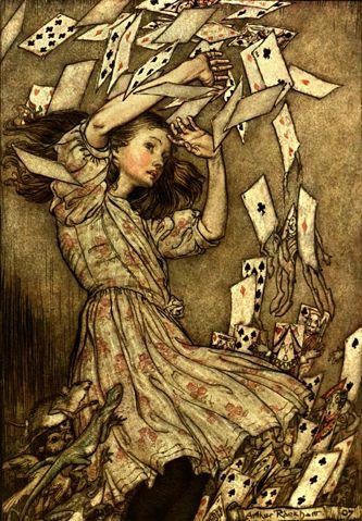 Les aventures d'Alice au Pays des Merveilles, Paris, Hachette page 164, 1908