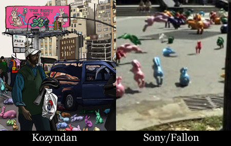 Kozyndan vs Sony