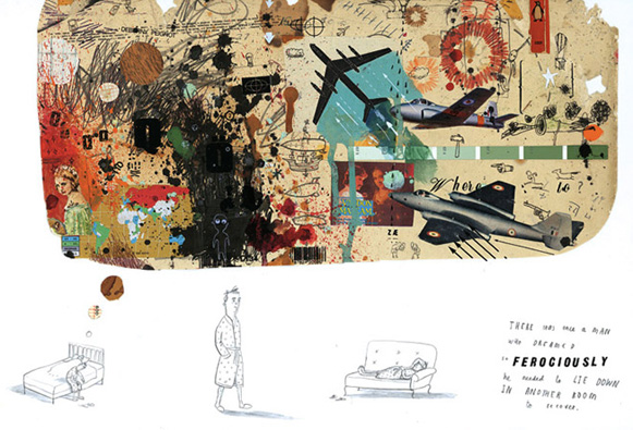 Oliver Jeffers sketchbook