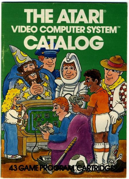 Atari Video Computer System Catalog 1981