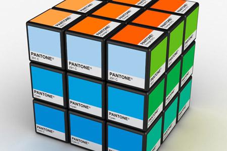 Rubitone Pantone Rubik's Cube