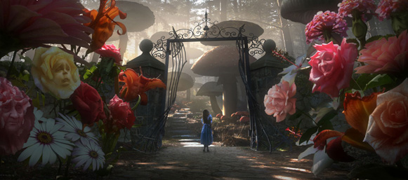 Alice in Wonderland concept art: Alice