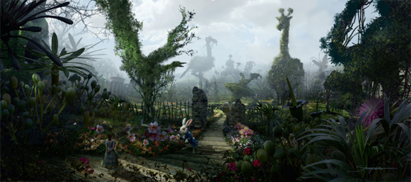 Alice in Wonderland concept art: The White Rabbit