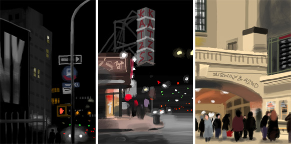 Images by Jorge Colombo on the iPhone Brushes app