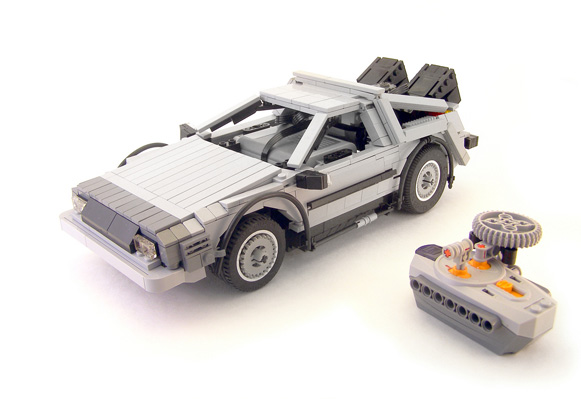 RC LEGO DeLorean