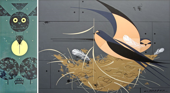 Lost Charley Harper paintings