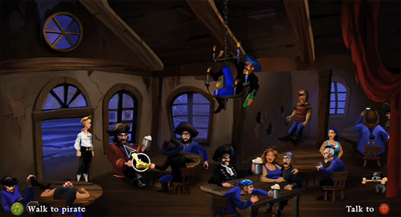 Monkey Island Special Edition Screenshot