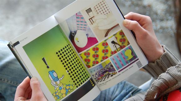 Otaku magazine spread
