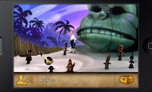 The Secret of Monkey Island on iPhone
