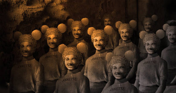 Terracotta Mouseketeers