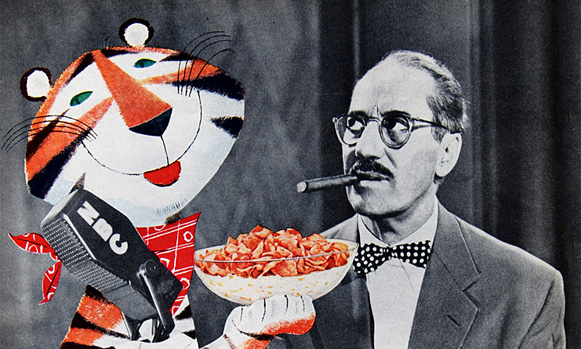 Tony the Tiger by the Provensens, with Groucho Marx
