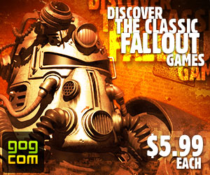 Discover the classic Fallout games. $5.99 each. No DRM.